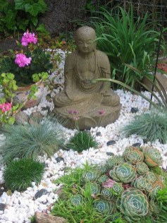Vintage Zen Gardens Design Decor Ideas For Backyard41