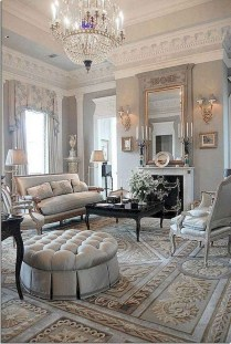 Wonderful French Country Design Ideas For Living Room04