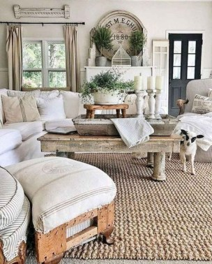 Wonderful French Country Design Ideas For Living Room17