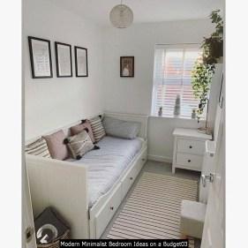 Modern Minimalist Bedroom Ideas On A Budget03