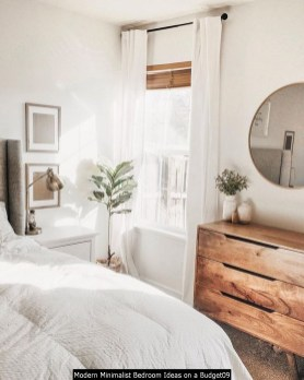 Modern Minimalist Bedroom Ideas On A Budget09
