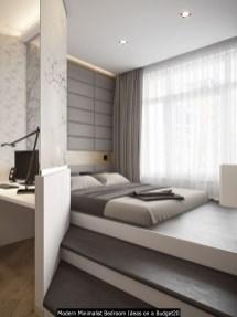 Modern Minimalist Bedroom Ideas On A Budget20