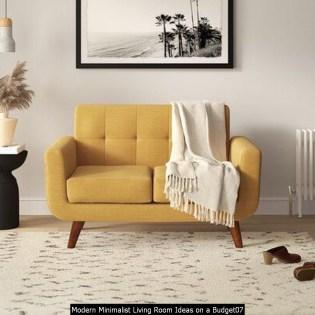 Modern Minimalist Living Room Ideas On A Budget07