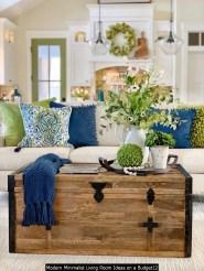 Modern Minimalist Living Room Ideas On A Budget12