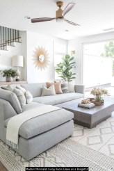 Modern Minimalist Living Room Ideas On A Budget14
