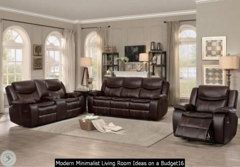 Modern Minimalist Living Room Ideas On A Budget16