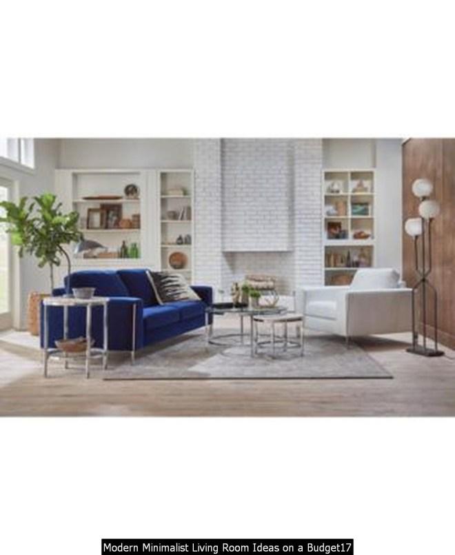 Modern Minimalist Living Room Ideas On A Budget17