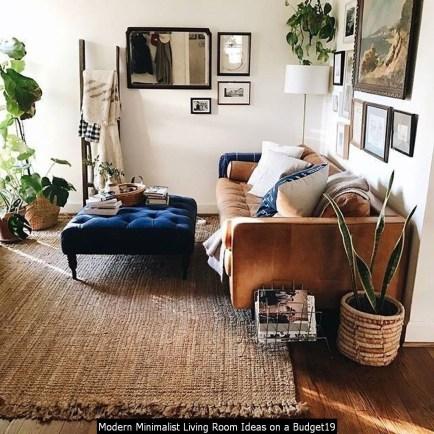 Modern Minimalist Living Room Ideas On A Budget19