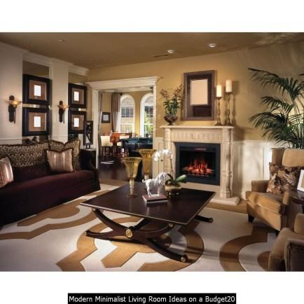 Modern Minimalist Living Room Ideas On A Budget20