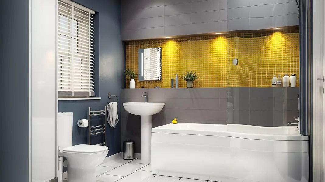 дизайн ванной комнаты с душевой кабиной фото 2019 современные идеи 7
