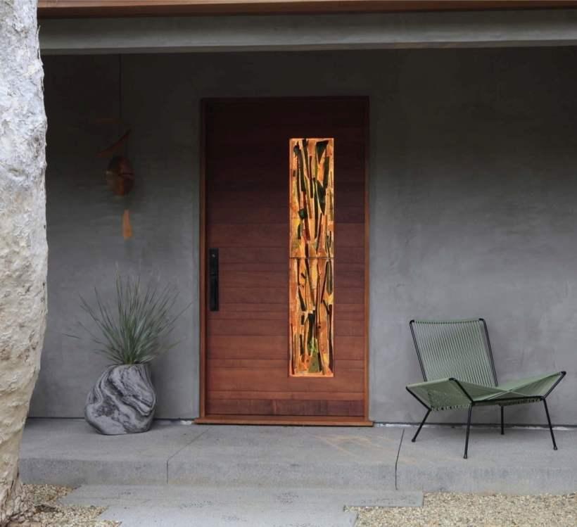Mid-Century Modern Front Door