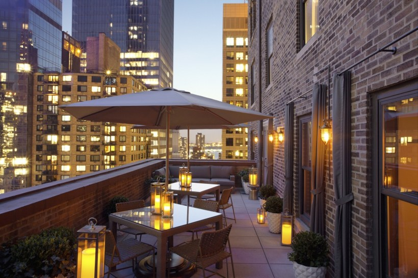 Private New York Outdoor Terrace