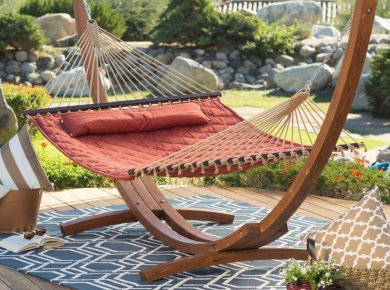 Cozy Patio with a Hammock