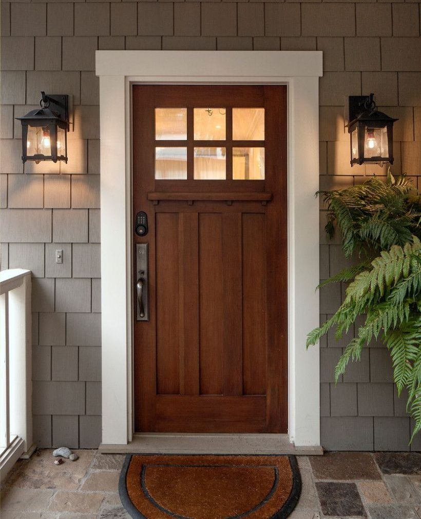 Awesome Craftsman Style Door