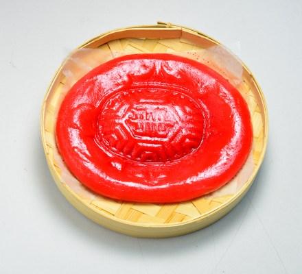 大紅的紅龜粿!