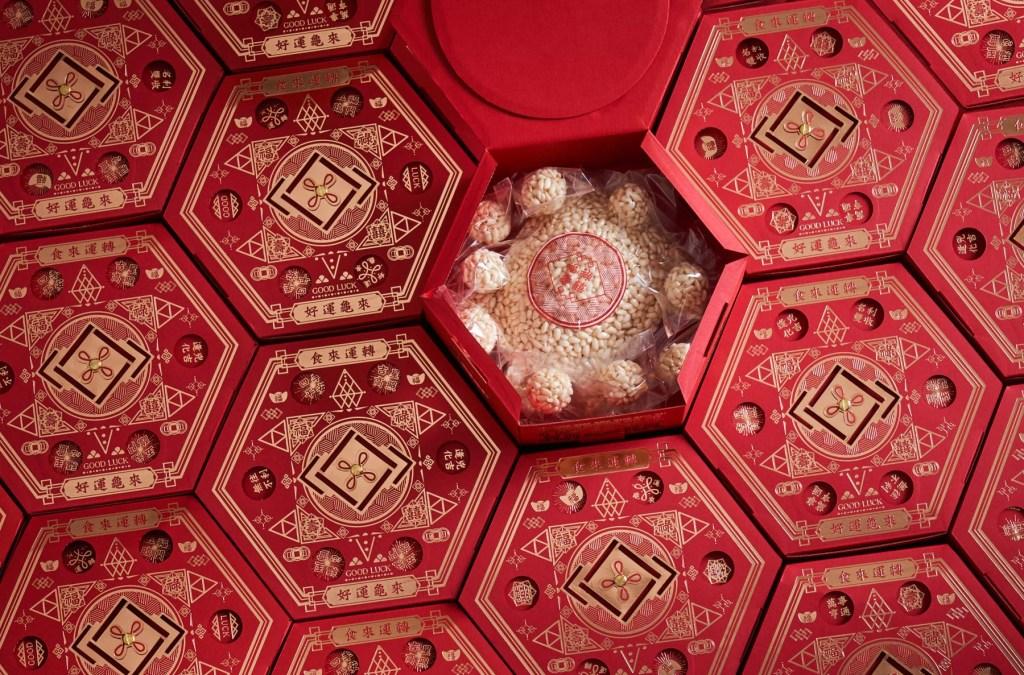 年末除了舉辦餐會,也會送禮來犒賞員工,送禮就送友台味的好禮好米芽禮盒,和象徵福運到的米香龜