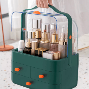 Makeup Storage Organiser With Cover