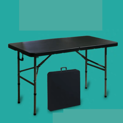 Foldable Table (Compact Case Table M- Black)