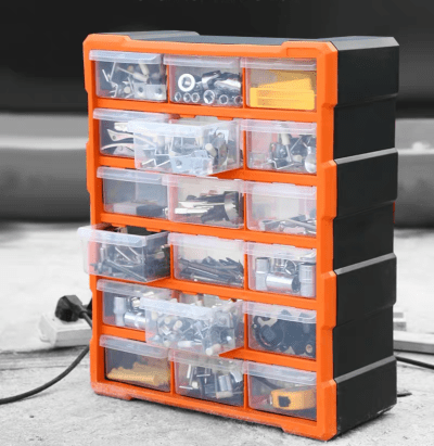 Hardware Storage Organisers