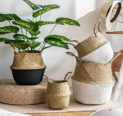 Woven Baskets (Natural & Handmade)
