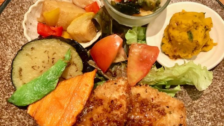 淀屋橋ODONAの地下「玄三庵」で健康定食 ひとり晩ご飯にも