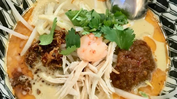 シンガポールの麺「ラクサ」を本町で!濃厚エビ出汁&ココナッツミルクスープにフォーの麺 本町・ツリーオブライフ