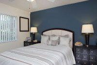 Inspiration: Bedroom in Dark Blue - HOMMCPS