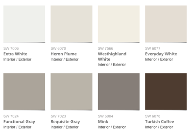 Favorite Gray Paint Colors In Our Home