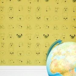 1.Papier peint enfant dogs.
