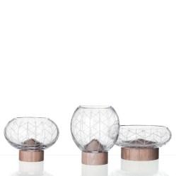3. Collection de vases Glass Mount.