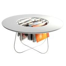 1. Table Basse et porte-revue.