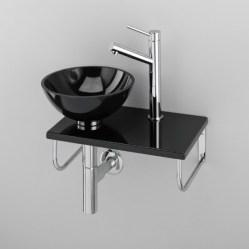 1. Lave-mains.