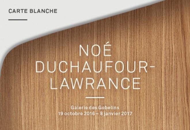 Carte blanche Noé Duchaufour-Lawrance