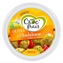Olive à l'Andalouse, Croc'Frais.
