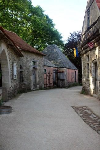 La cité médiévale.