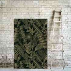 2.Papier peint Flore, Bazar Exquis.