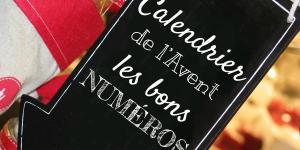 Calendrier de l'Avent : les bons numéros