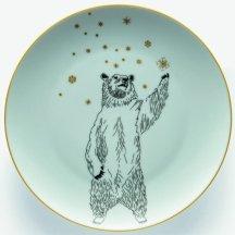 5. Assiette plate Print Ours, Monoprix.