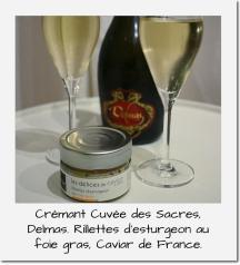 Delmas + Delices de Caviar