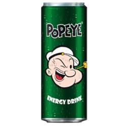 Popeye, Energy Drink.