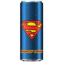 Superman Energy Drink.