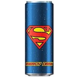 Superman Energy Drink.