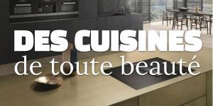Des cuisines de toute beauté