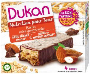 Barres au son d'avoine enrobées de chocolat, Dukan