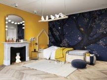 Papier peint Panoramique Abracadabra nuit, Isidore Leroy