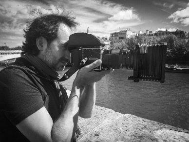 Portrait de Bruno Houdayer, artiste-photographe
