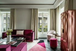 Chambre de l'Hôtel Fauchon.