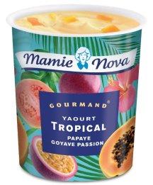 Yaourt tropical Mamie Nova, 1,35 €.