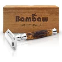 Rasoir de sécurité avec manche en bambou, Bambaw
