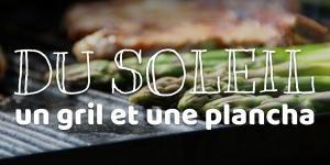 Read more about the article Du soleil, un gril et une plancha